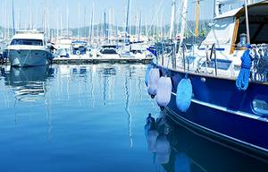 Marinas, yacht harbours