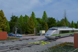 Standard rail crossing signals