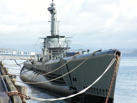Bender & USS Pampanito
