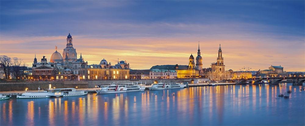 Skyline von Dresden