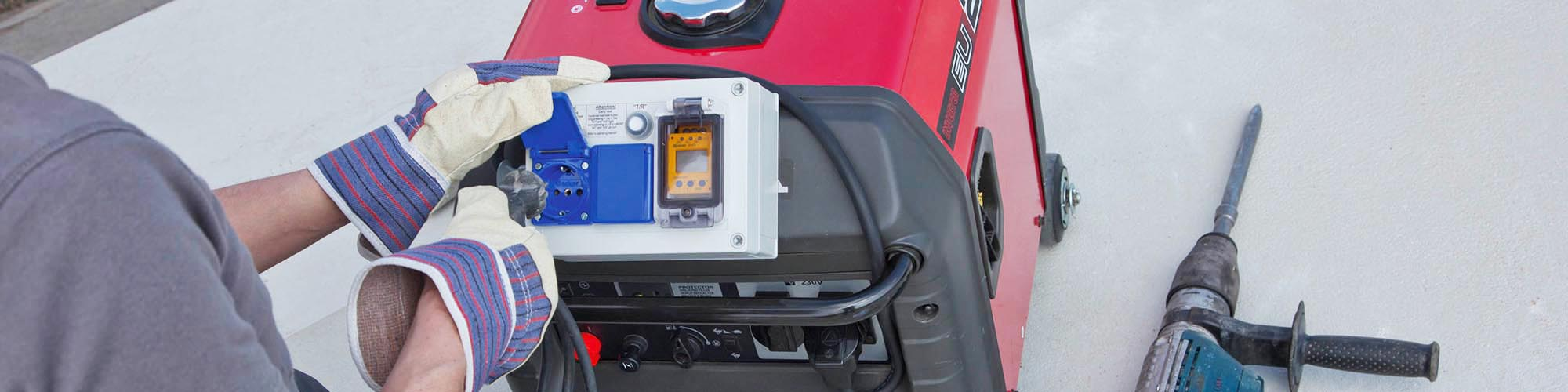 Using mobile generators safely